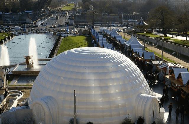 L'igloo gonflable pour vos évènements professionnels
