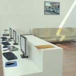 Bureau de travail