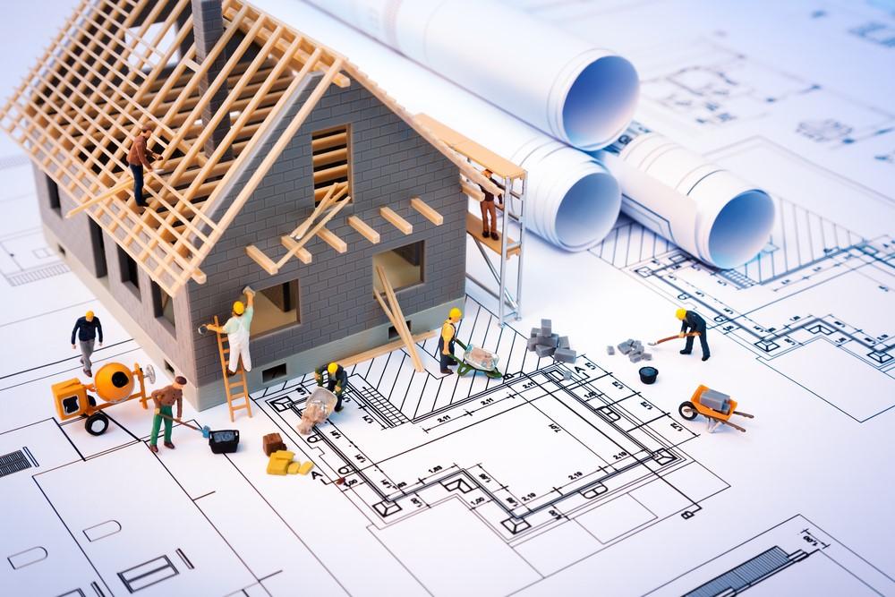 maquette construction maison