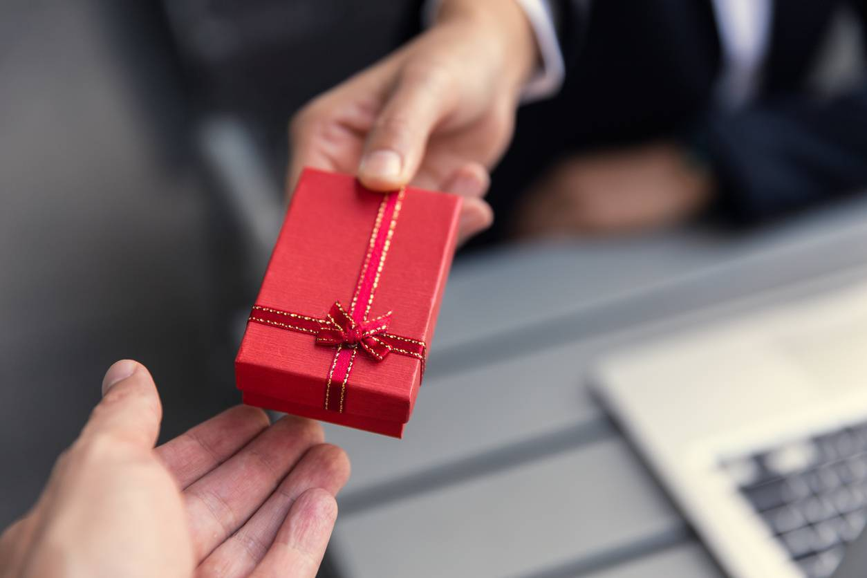 Cadeau d'entreprise pour remercier ses clients